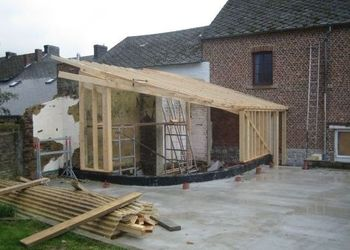 SPRL Mathieu - Ossature bois - OSSATURE LANDENNE
